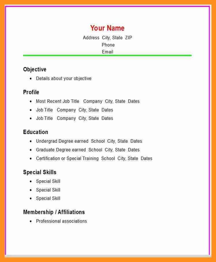 5+ basic resume format for students   scholarship letter