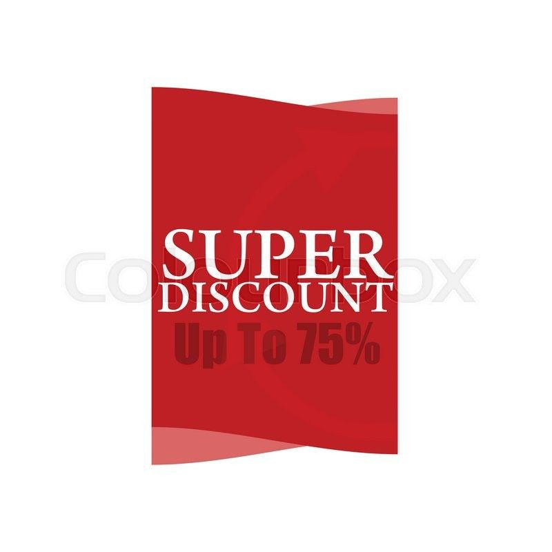 Mega Discount. Discount sticker. Offer sticker. Discount label ...