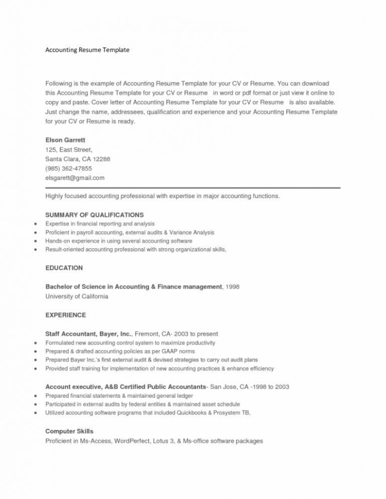 Download Copy And Paste Resume Templates | haadyaooverbayresort.com