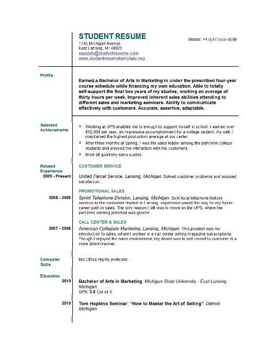 first job resume template 19 resume template first job amazing ...