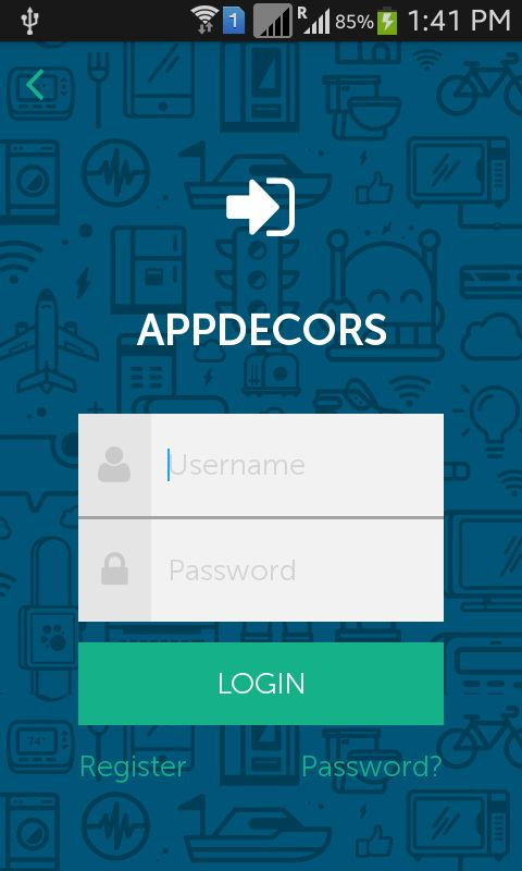 Android Login templates Pack by appdecors | CodeCanyon