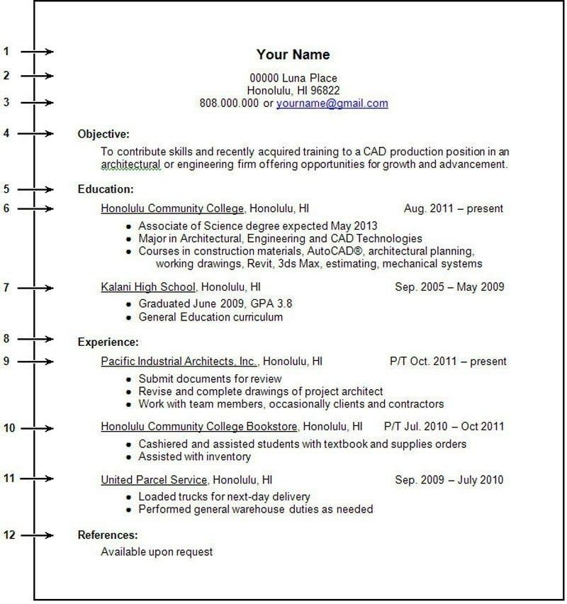 How To Write Work Experience In Resume   jennywashere.com