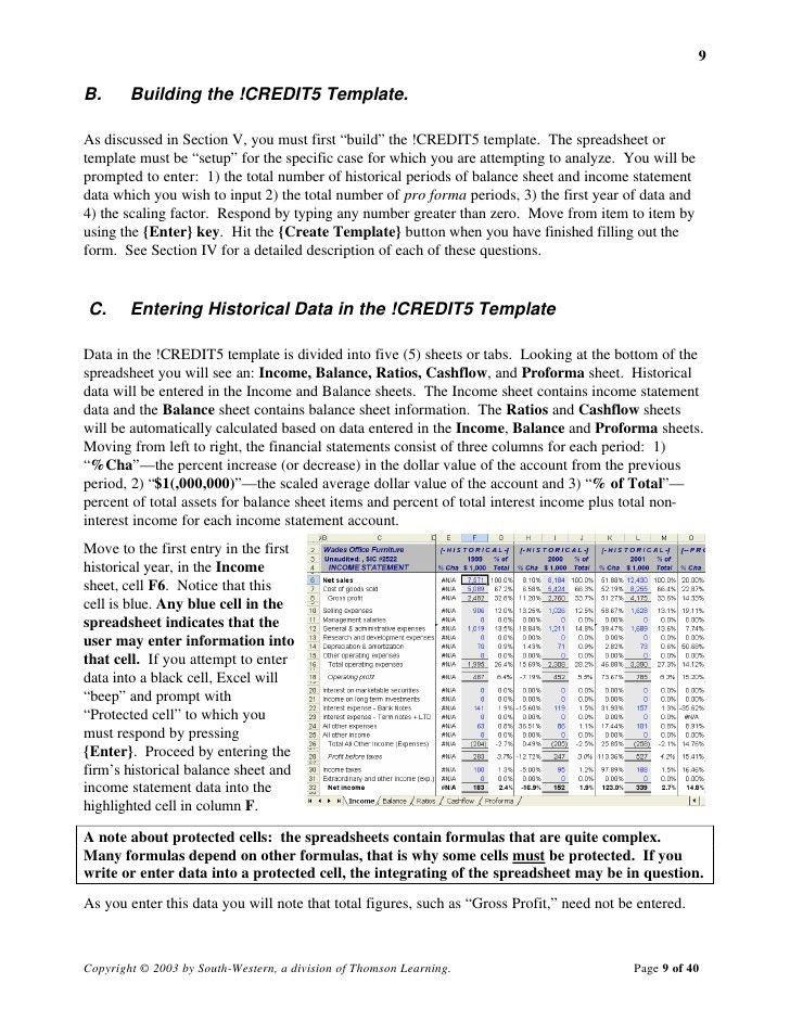 Bank Management Financial Analysis Templates
