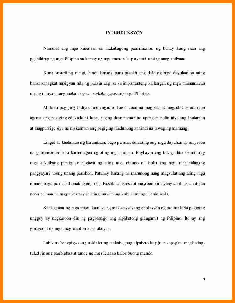 8+ research paper tagalog sample | buyer resume