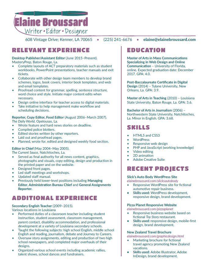 Resume builder download pdf