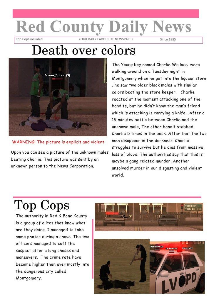Word newspaper template 1 (.doc)