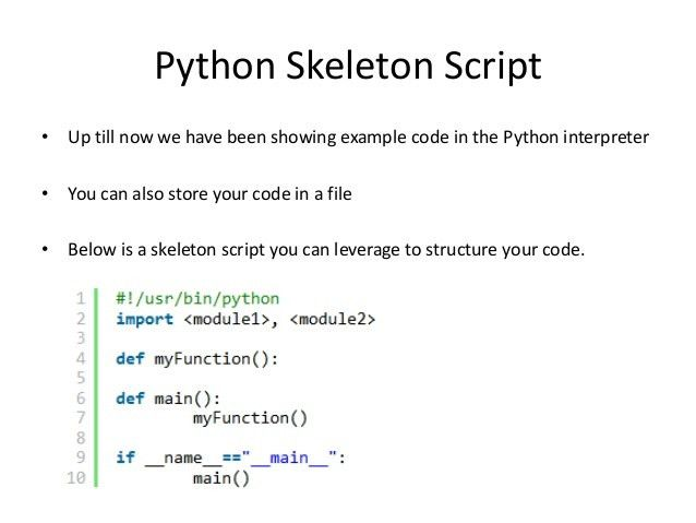 Introduction to Python for Security Professionals
