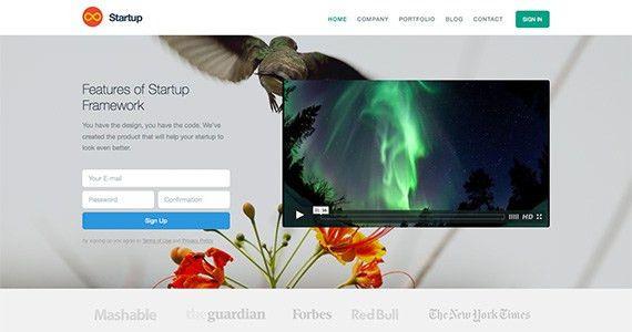 Free Responsive Website HTML and CSS Templates - Designmodo