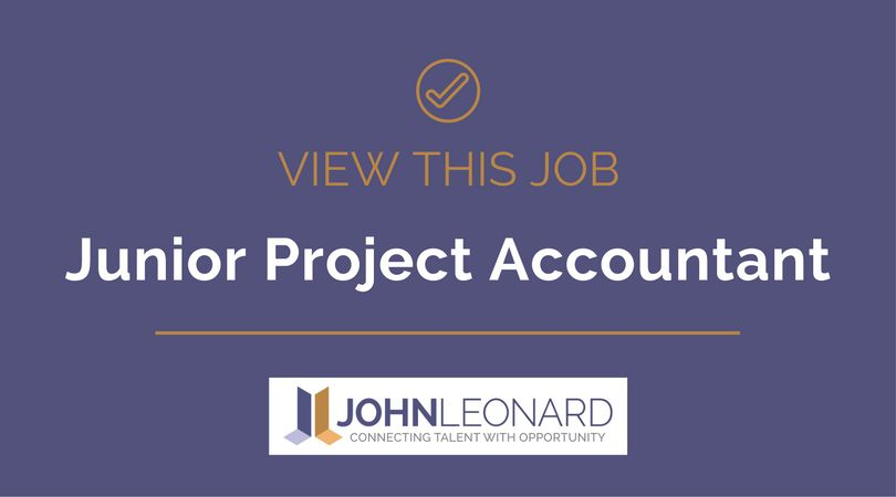 Junior Project Accountant #25834