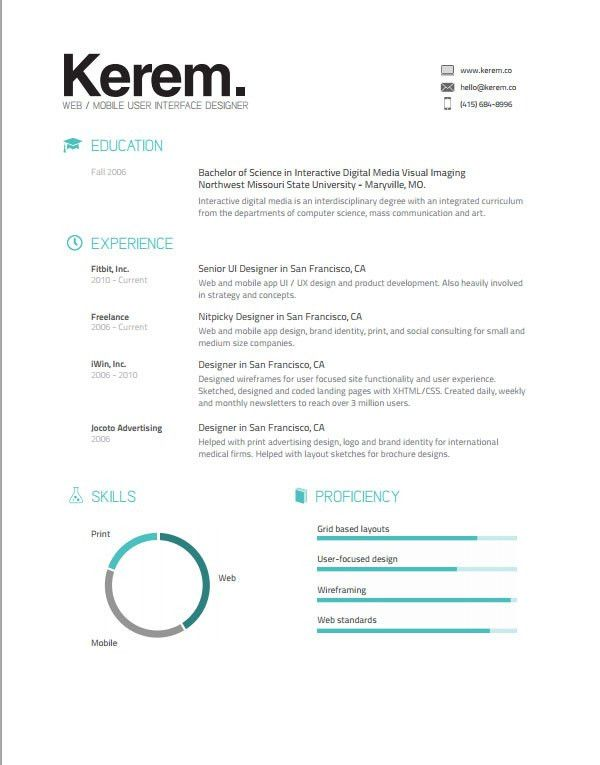 50+ Awesome resume templates 2016 •