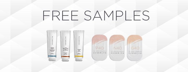 2 Free Samples w. every COVER FX Order   Cruelty Free Luxe&Fab ...