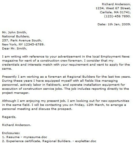 Civil Construction Cover Letter Examples - Cover Letter Now