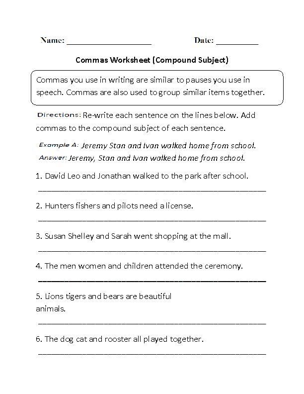 Lesson 1.3 Compound Sentences - Lessons - Tes Teach