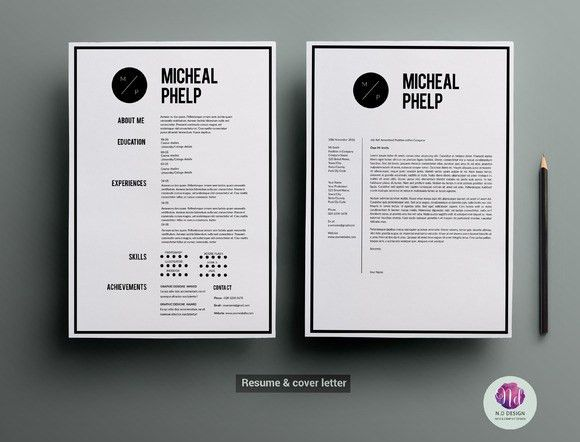 CV template , cover letter template • Available here → https ...