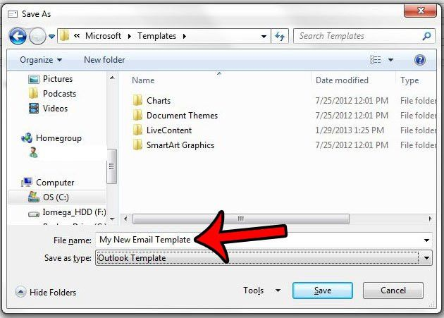 How to Create an Outlook Email Template in Outlook 2013 - Solve ...