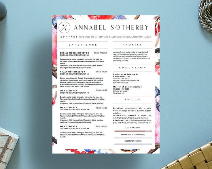9 best Annabel Sotherby Beautiful Resume Template images on ...