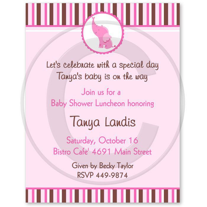 Baby Girl Shower Invitation Wording – gangcraft.net