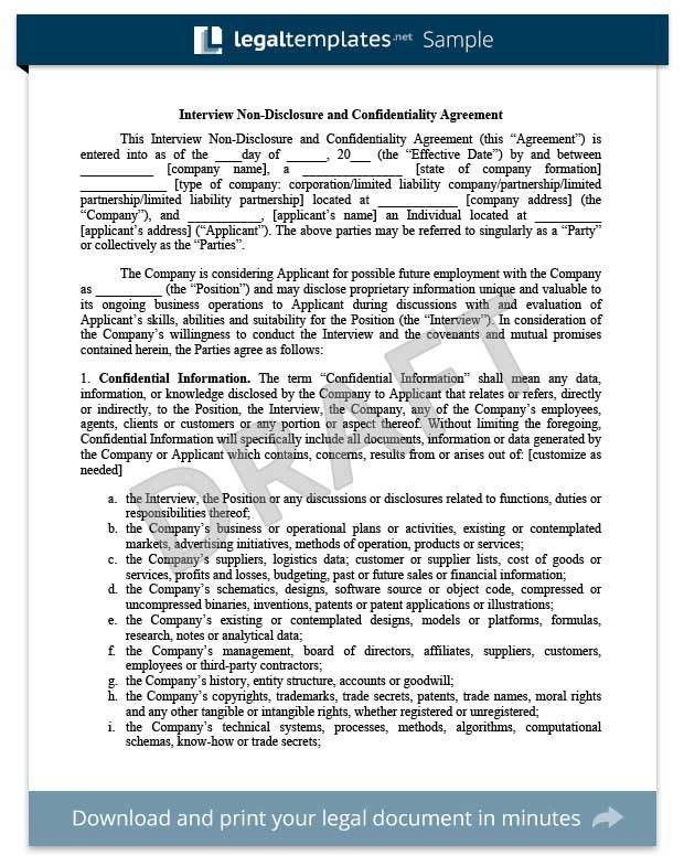 Legal Confidentiality Agreement. Image Result For What Is Non ...