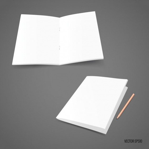 White paper template Vector | Free Download