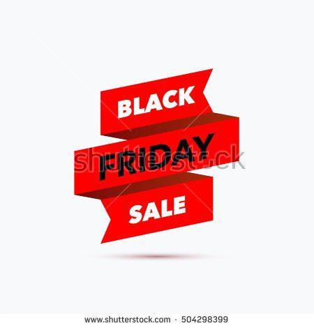 Black Friday Sale Design Template Creative Stock Vector 504298399 ...