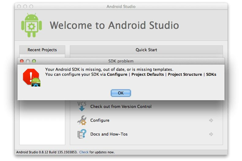Download and Install Android Studio 0.8.12 | a guy, named urban jack