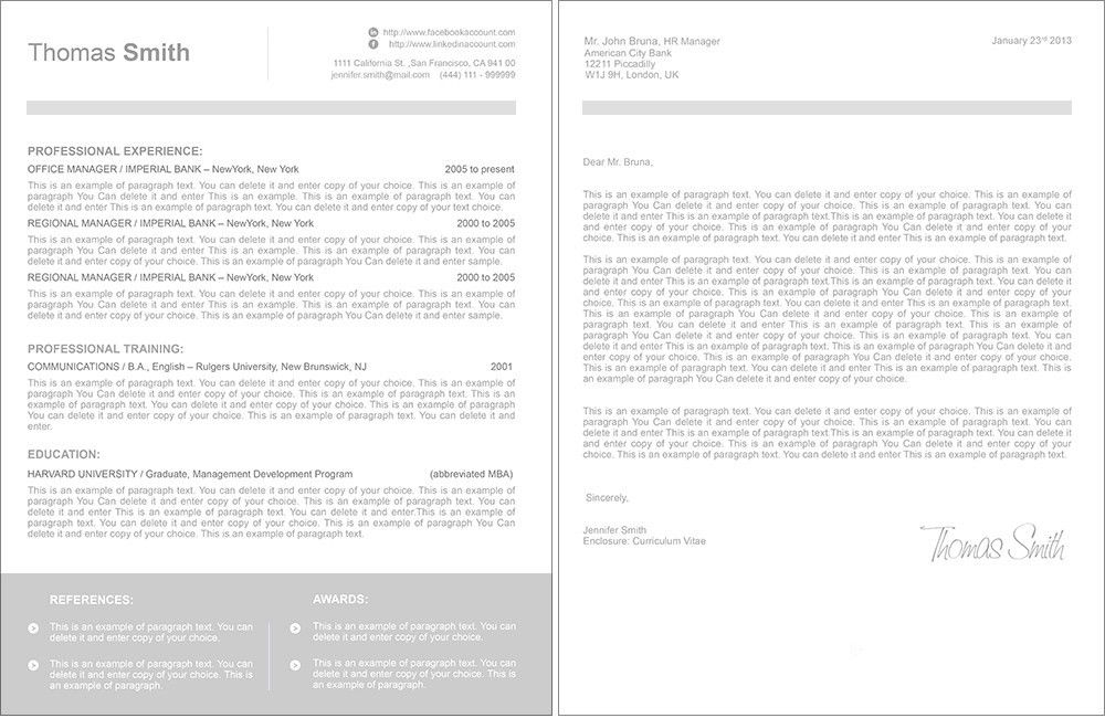 Resume Template - 109060 | ResumeWay