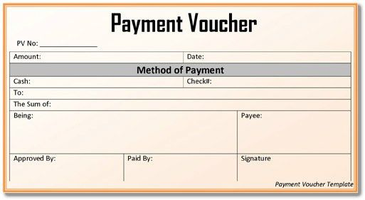 5+ Payment Voucher Templates in Word & PDF Format