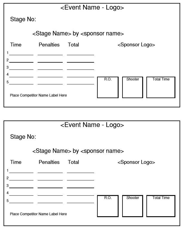 9 Free Sample Bridgett Score Sheet Templates – Printable Samples