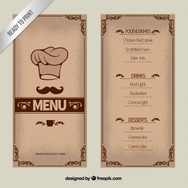 Restaurant Menu Vectors, Photos and PSD files | Free Download