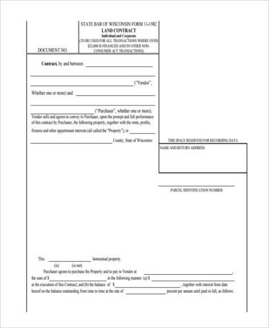 Sample Contract for Deed Forms - 8+ Free Documents in Word, PDF
