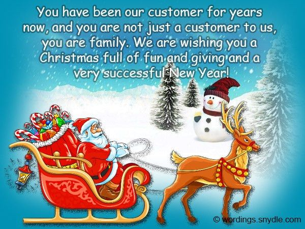 Christmas Messages for Client - Wordings and Messages