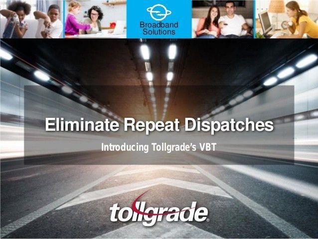 Tollgrade Virtual Broadband Technician (VBT)