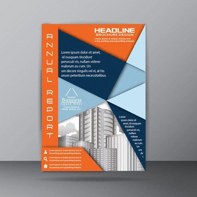 Annual Report Brochure Template for Corporate Company Purpose ...