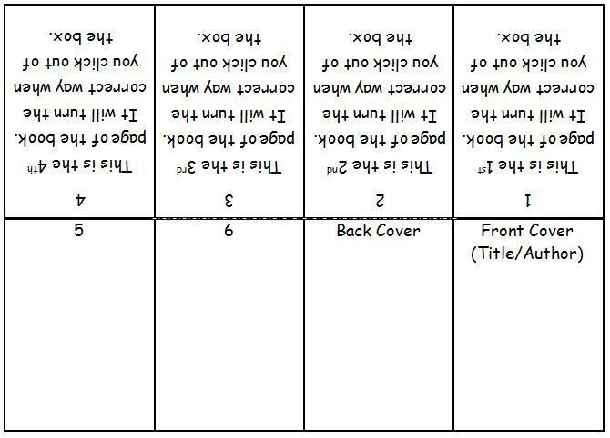 mini book template microsoft word - Google Search | 3rd grade ...