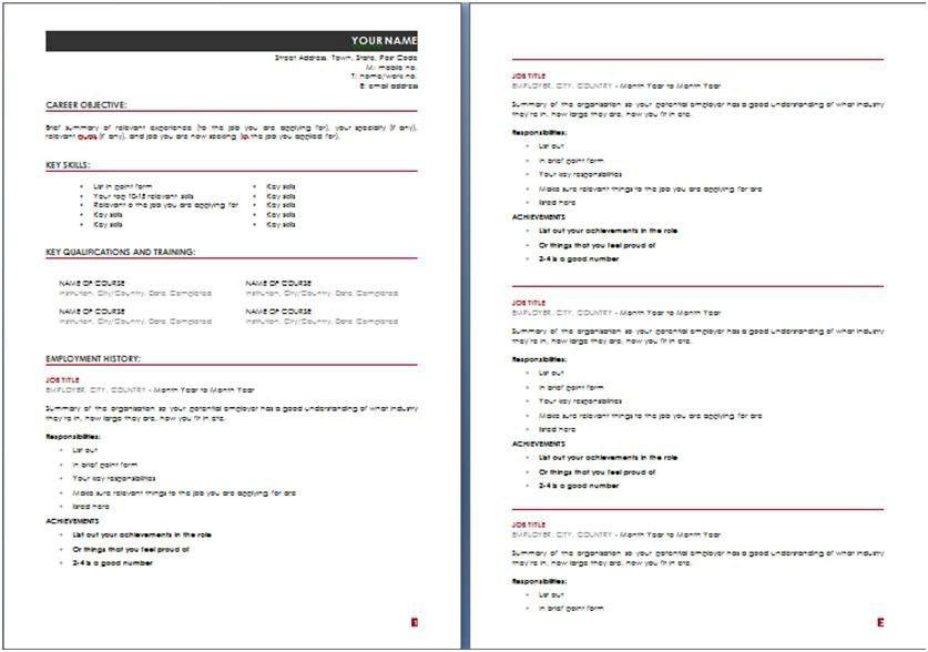 resume builder australia free resume templates professional