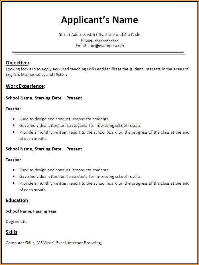 resume templates for teaching jobs teacher cv template lessons