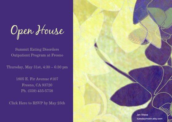 11 Best Photos of Open House Postcard Template - Open House ...