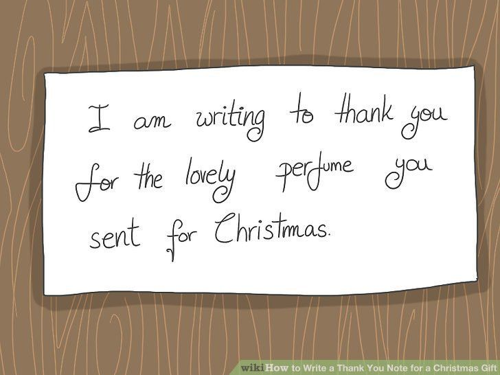 How to Write a Thank You Note for a Christmas Gift: 14 Steps
