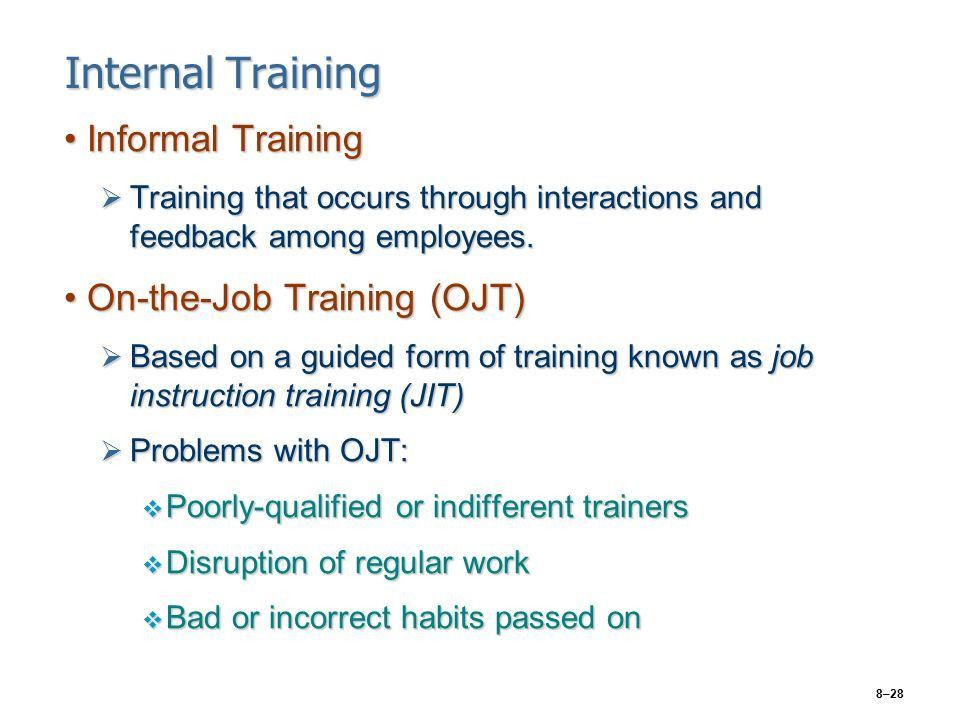 CHAPTER 8 Training Human Resources - ppt video online download