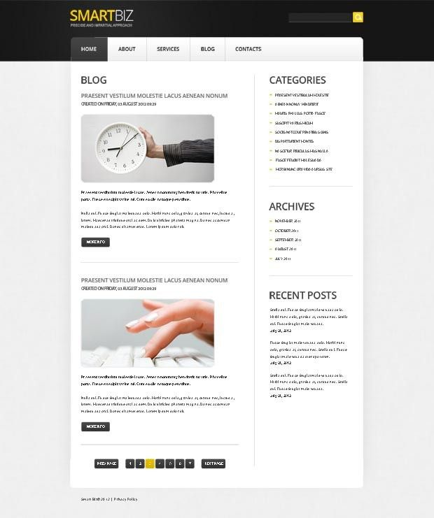 134 best FREE Website Templates images on Pinterest | Free website ...