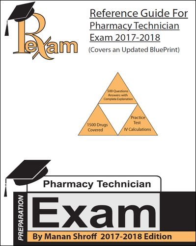 Pharmacy Technician (PTCB) Review And Study Books.