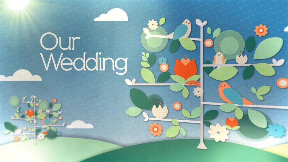 Wedding Photo Tree After Effects template - FluxVFX