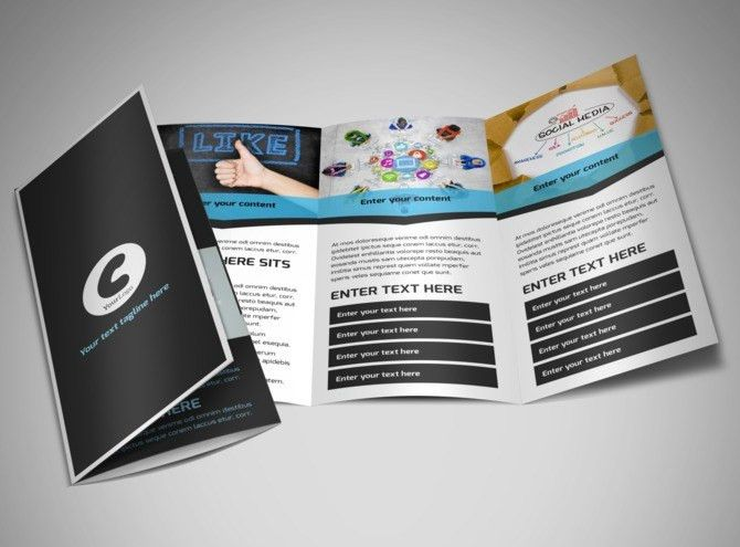 Social Media Marketing Flyer Template   MyCreativeShop