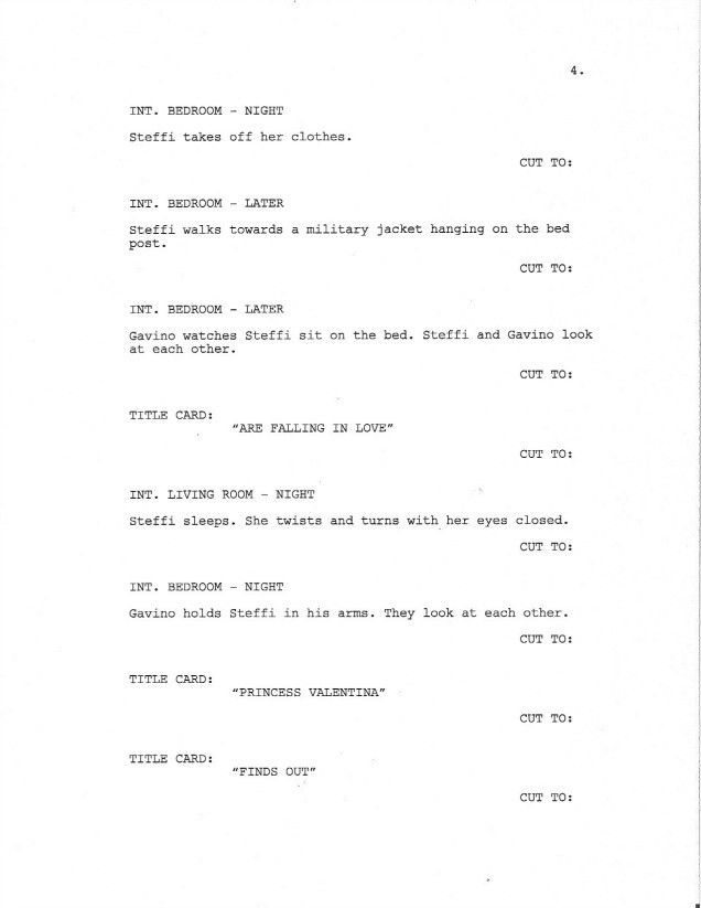 Page 4 of Royal Love Story From The Grave - Sample Screenplay ...
