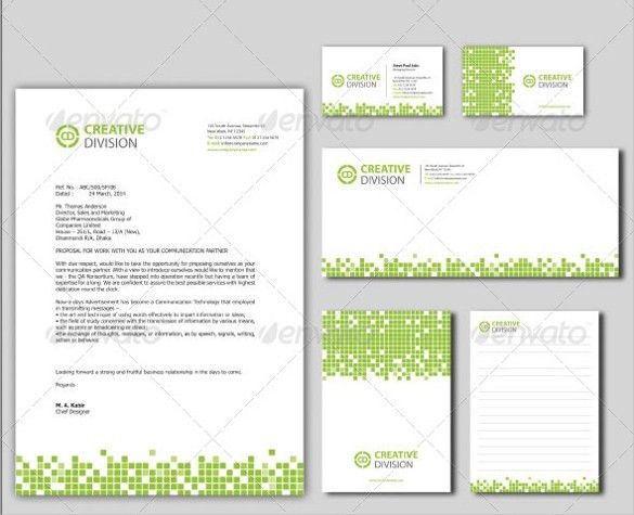 PSD Letterhead Template - 51+ Free PSD Format Download! | Free ...
