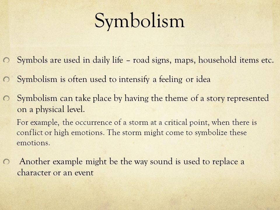 Symbolism Sherwood Brooks Driftwood Middle School. - ppt download