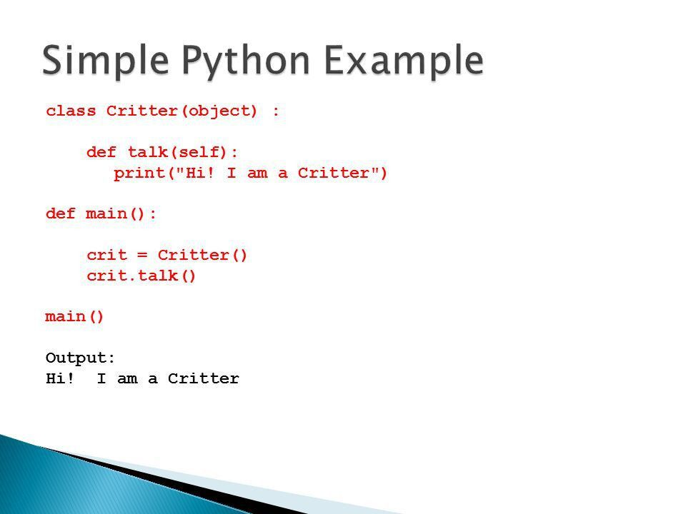 Object Oriented Programming In Python - ppt download