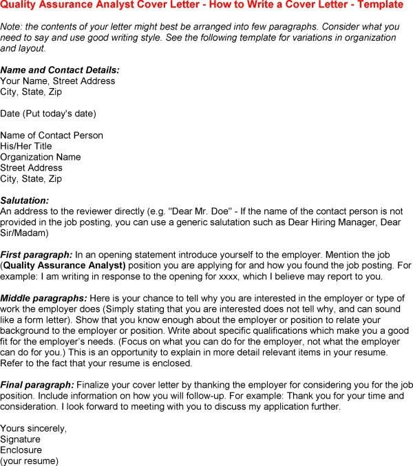 Resume Cover Letter Quality Control Inspector - Augustais