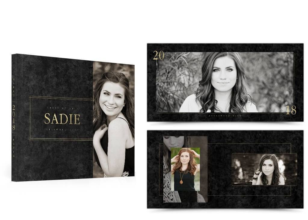 Senior Photo Album Design Templates | The Album Cafe