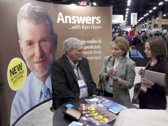 Photos from the NRB Convention | Answers in Genesis